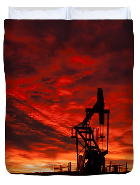 Alberta Sunrise Duvet Cover
