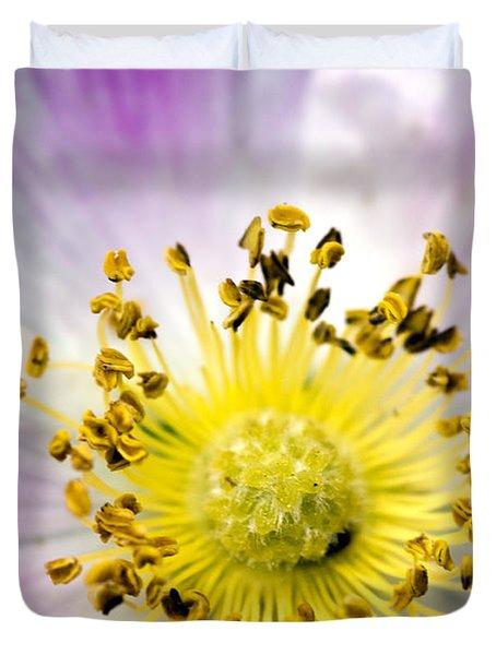 Alberta Wild Rose Duvet Cover by Dee Cresswell