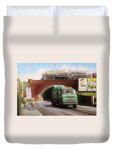 Albion Mixer. Duvet Cover by Mike  Jeffries