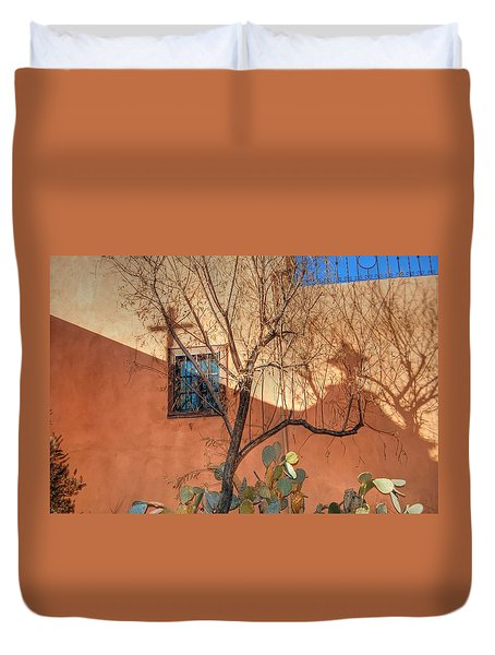 Albuquerque Mission Duvet Cover
