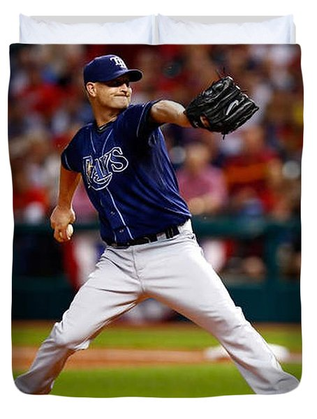 Alex Cobb #53 Duvet Cover