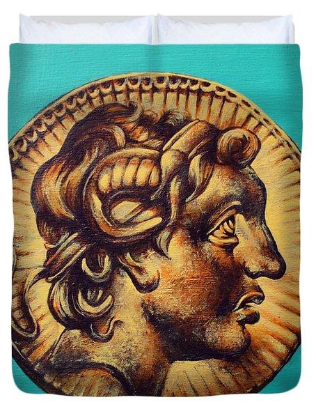 Alexander The Great Duvet Cover