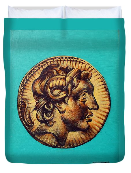 Alexander The Great Duvet Cover