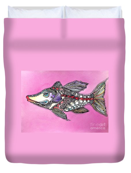 Alexandria The Fish Duvet Cover