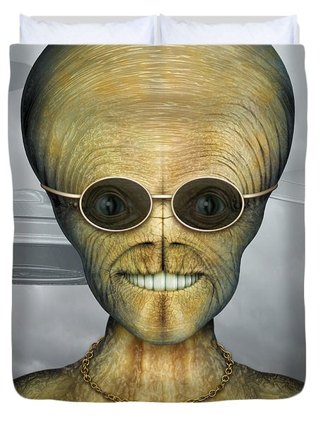 Alien Duvet Cover
