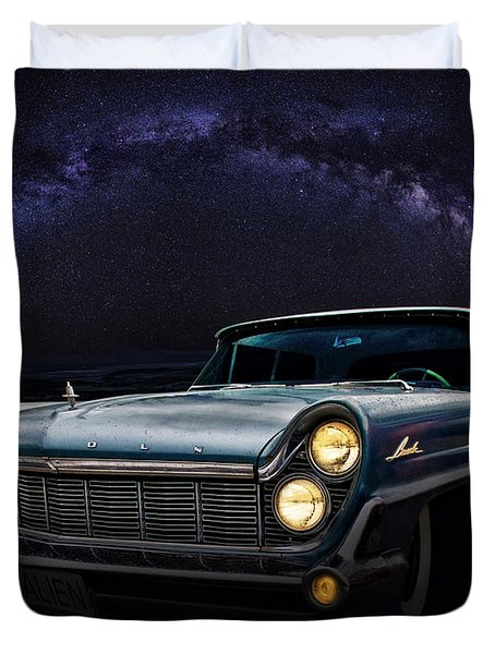 Alien Lincoln Roswell Saturday Night Duvet Cover