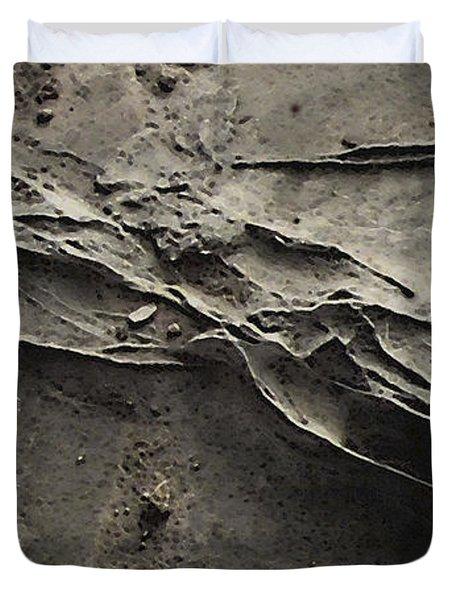 Alien Lines Duvet Cover