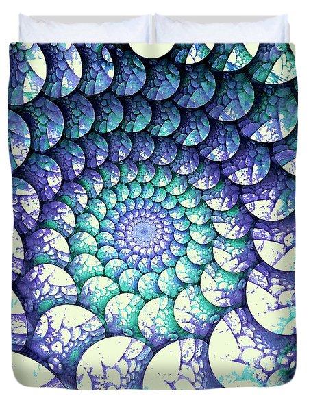 Alien Nest Duvet Cover by Anastasiya Malakhova