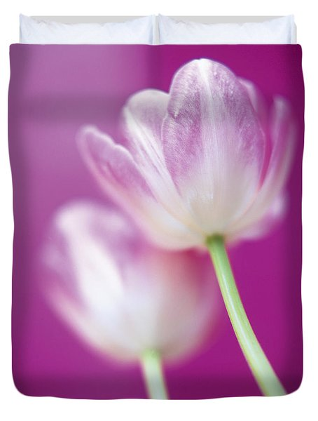 Duvet Cover featuring the photograph Alike by Lana Enderle
