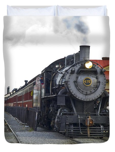 All Aboard Duvet Cover by Paul W Faust -  Impressions of Light