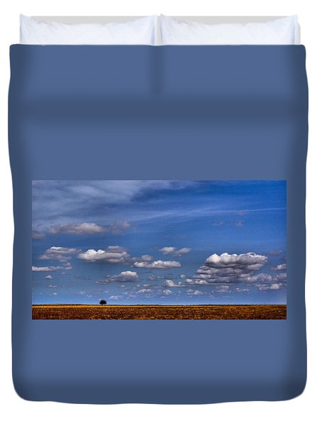 All By Myself Duvet Cover