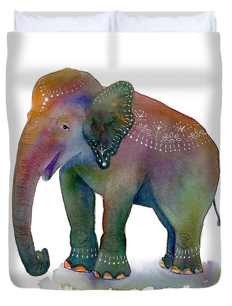 All Dressed Up Duvet Cover by Amy Kirkpatrick