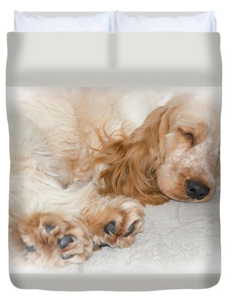All Feet And Ears Duvet Cover
