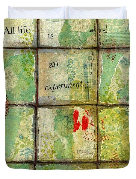 All Life...abstract Art Duvet Cover by Blenda Studio