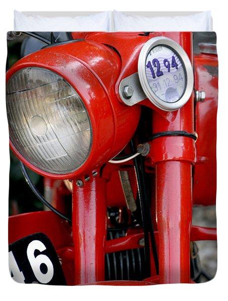 All Original English Motorcycle Duvet Cover