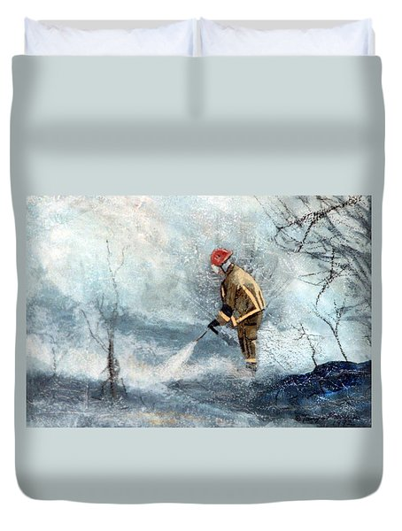 All Out Duvet Cover by Tanya Provines