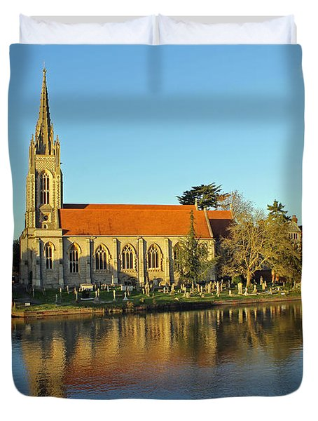 All Saints Church Marlow Duvet Cover