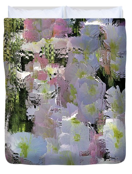 All The Flower Petals In This World Duvet Cover by Kume Bryant