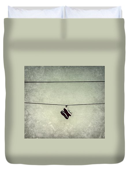 All Tied Up Duvet Cover by Melanie Lankford Photography