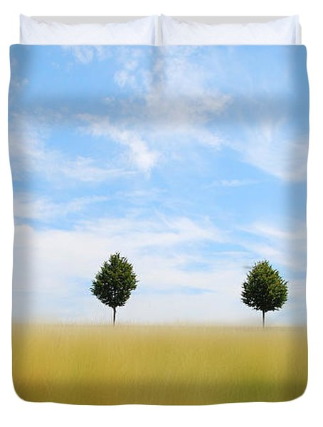 Allee  03 Duvet Cover by Hannes Cmarits