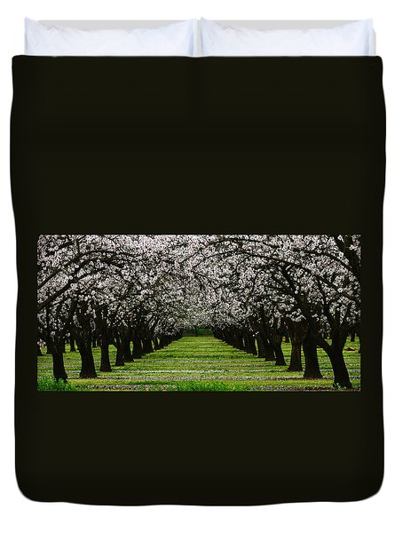 Almond Orchard Duvet Cover