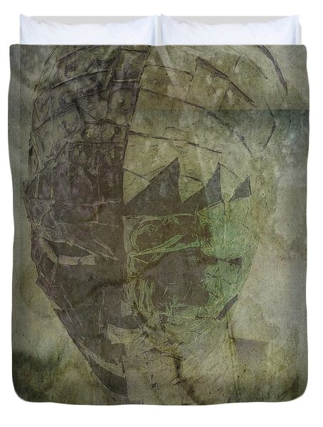 Duvet Cover featuring the photograph Almost Forgoten by Irma BACKELANT GALLERIES