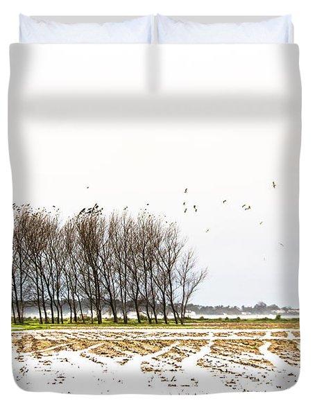 Almost Winter Duvet Cover