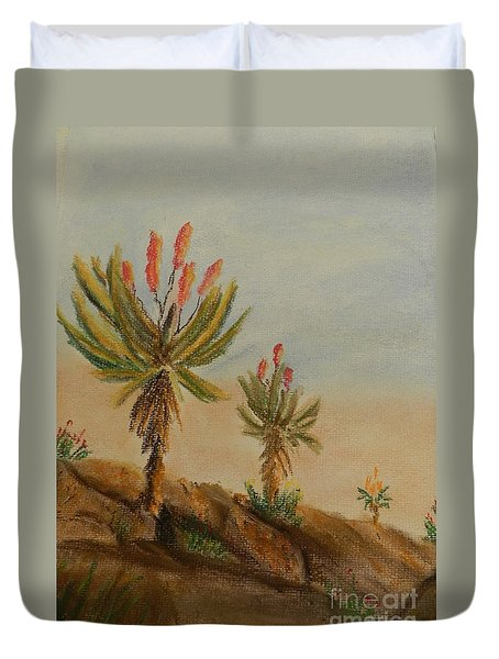 Aloes Duvet Cover