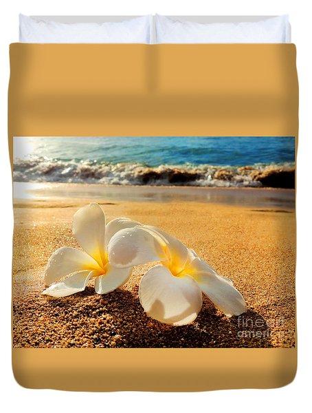 Aloha Duvet Cover by Kristine Merc