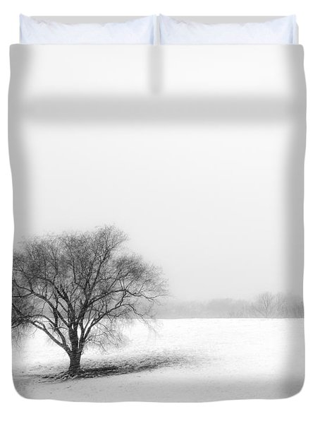 Alone Duvet Cover by Don Spenner