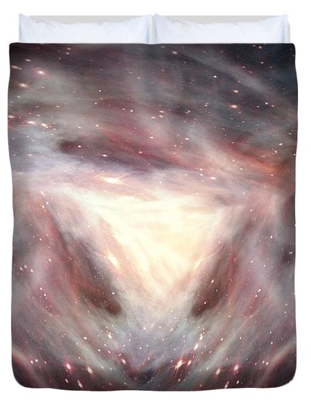 Alpha And Omega Duvet Cover by Bill Stephens