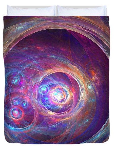 Alpha Centauri Duvet Cover by Kim Sy Ok