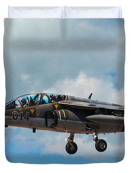 Alpha Jet 014 Duvet Cover by Bianca Nadeau