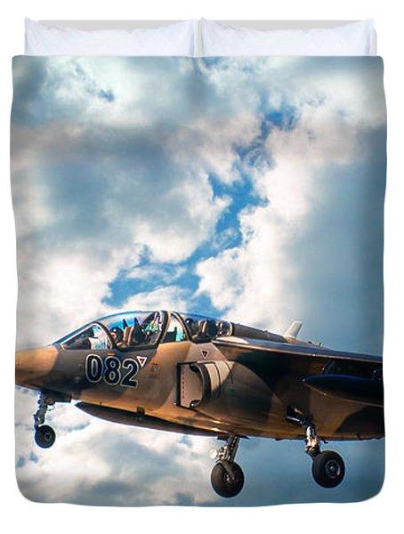 Alpha Jet 082 Duvet Cover by Bianca Nadeau