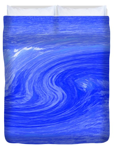 Alpha Wave By Jrr Duvet Cover by First Star Art
