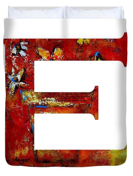 Alphabet Letter E Painting by Patricia Awapara