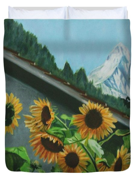 Alpine Delight Duvet Cover