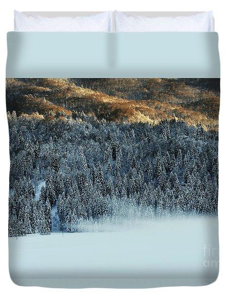 Alpine Forest Duvet Cover