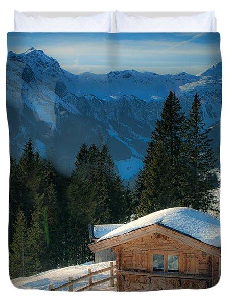 Alpine View Duvet Cover