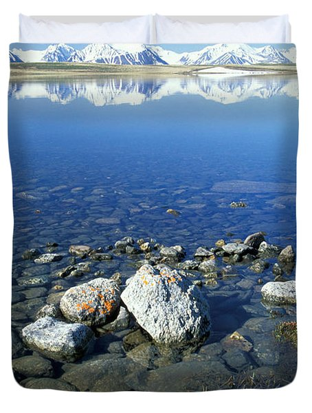 Altai Duvet Cover by Anonymous
