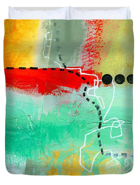 Alternate Route 56 Duvet Cover by Jane Davies