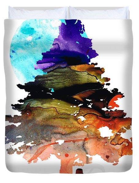 Always Dream - Inspirational Art By Sharon Cummings Duvet Cover by Sharon Cummings