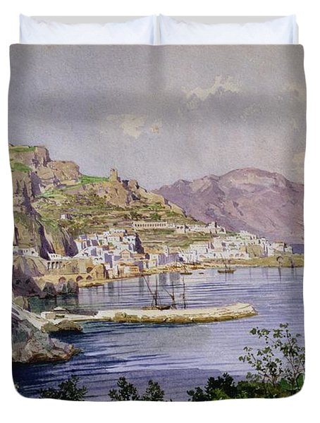 Amalfi Duvet Cover by Ludwig Hans Fischer