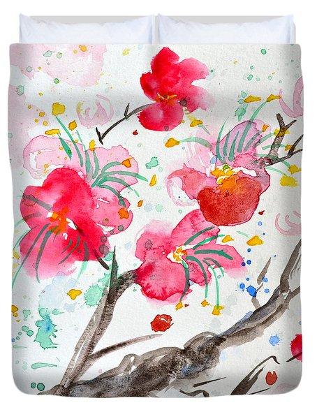 Amami Or Sweetness Duvet Cover
