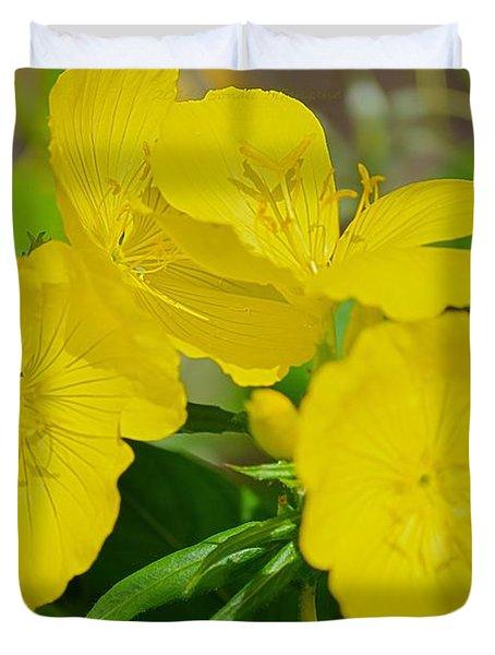 Amarillo Sunshine Duvet Cover by Sonali Gangane