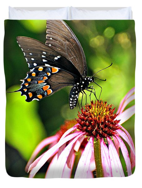 Amazing Butterfly Duvet Cover by Marty Koch