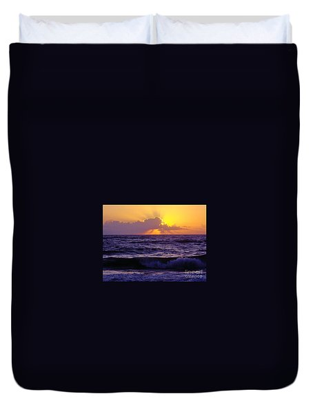 Amazing - Florida - Sunrise Duvet Cover by D Hackett