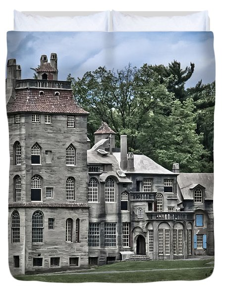 Amazing Fonthill Castle Duvet Cover