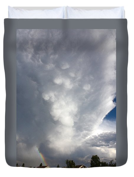 Amazing Storm Clouds Duvet Cover