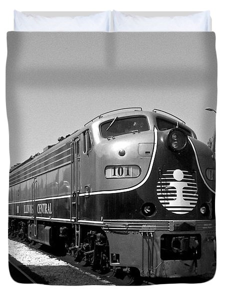 Amazing Trainyard Duvet Cover
